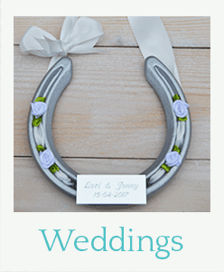 Wedding horseshoe gifts